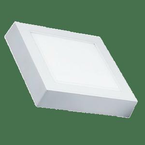 Painel Led Lux Quadrado Sobrepor 18W