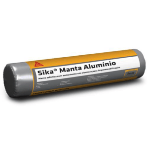 Manta Asfáltica Alumínio 3mm - Sika