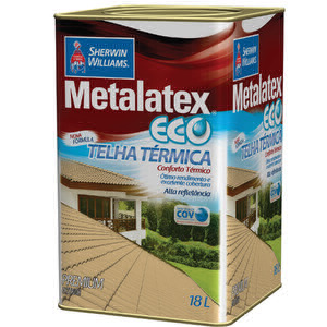 Metalatex Eco Telha Térmica - Sherwin Willians