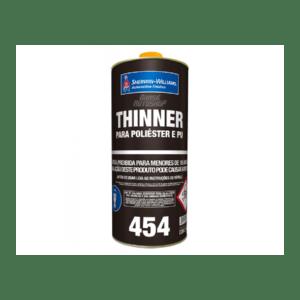 Thinner 454 Poliéster e PU SW