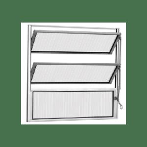 Vitrô Basculante Alumínio Esax