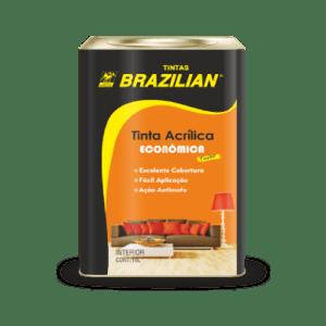 Tinta Acrílica Econômica Brazilian
