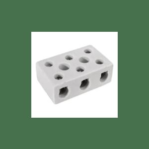Conector de Porcelana Tripolar