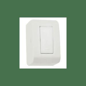 Caixa de Sobrepor 1 Interruptor Simples 10A 250V LizFlex Tramontina