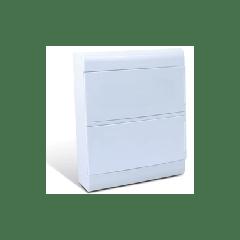 Quadro de Distribuição de Embutir Ouro Box 24Din Steck