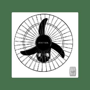 Ventilador de Parede 50cm com Grade de aço Bivolt Ventisol