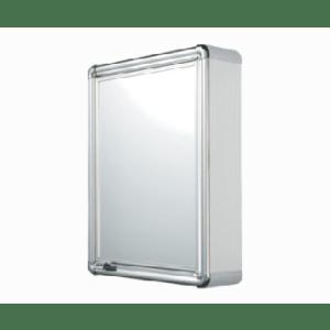 Armário Plástico Sobrepor Perfil Alumínio 1 porta Astra
