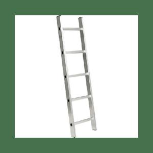 Escada paralela em aluminio 5 degraus vonder