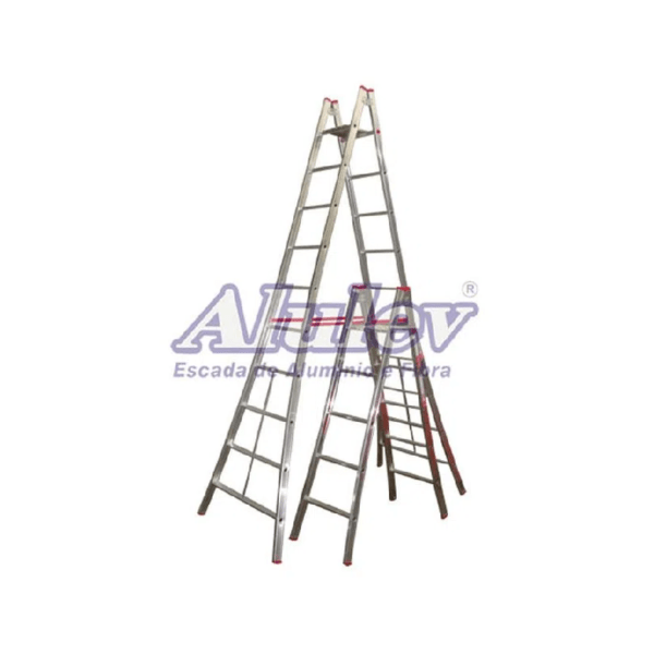 Escada Pintor em Alumínio